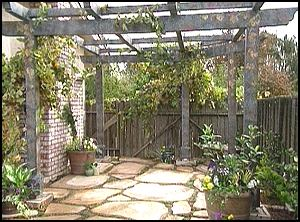 Arbor plan - grape arbor