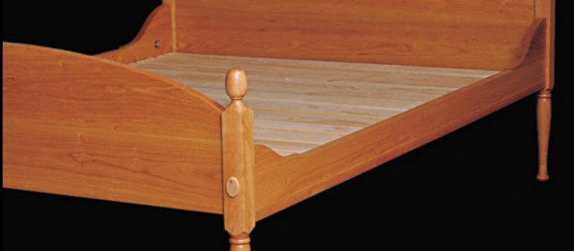 Shaker Bed Woodworking Plans
