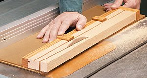 Taper Jig for Table Saw