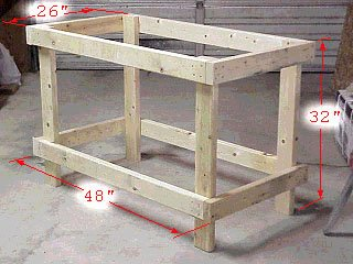 Free Workbench Plans - CAD Workbench, Workbench, Paul's Old Workbench