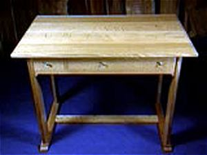 Craftsman style desk plans