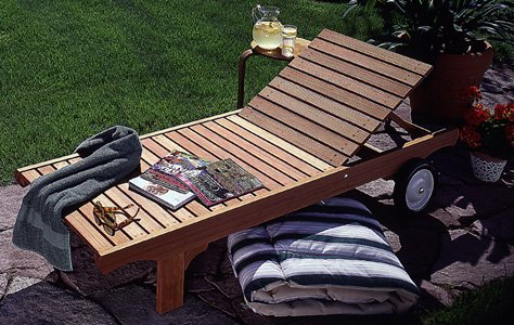 chaise woodworking plans