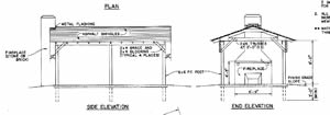 Picnic Shelter Plans - Woodwork City Free Woodworking Plans