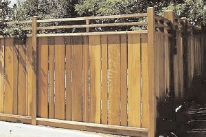 Privacy Fence Plans - Mission look