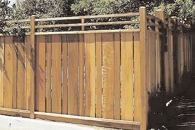 Redwood Fence Plans
