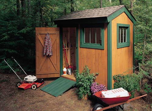 Beautiful and Free Garden Shed Plans