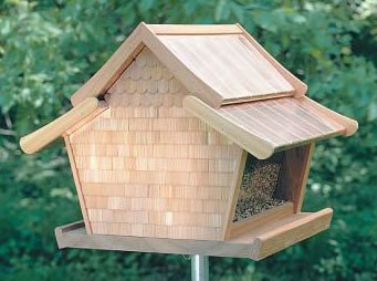 Beautuful and Free Bird Feeder Plans