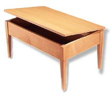 maple coffee table plans