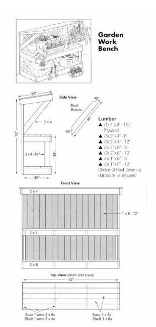 Best Quality Potting Bench Plans 310 x 647 · 28 kB · jpeg