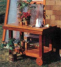 Portable potting bench plans