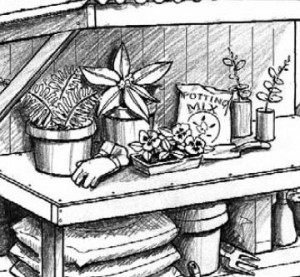 Garden work bench plans download