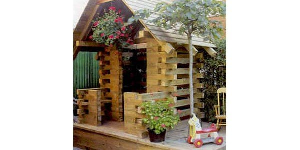Free Log Cabin Play House Plans