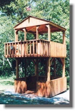 Play Set Plans – 2 Story Fort Style
