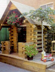 Log cabin play house plans