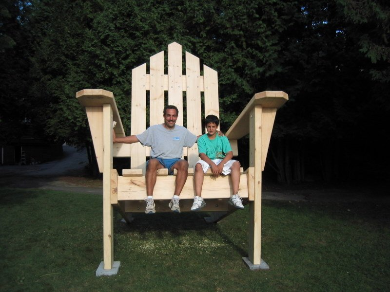 adirondack chair plans tall