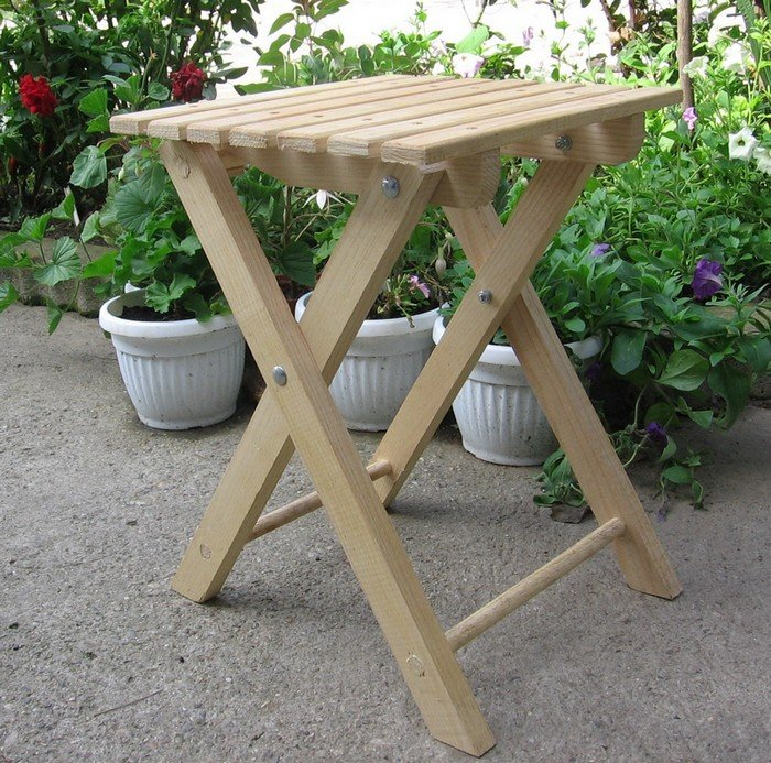 Free Folding Stool Plans Woodwork City Free Woodworking