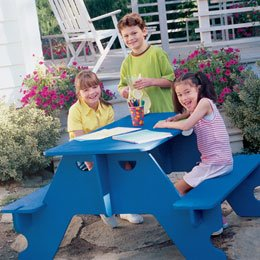 Knock Down Picnic Table