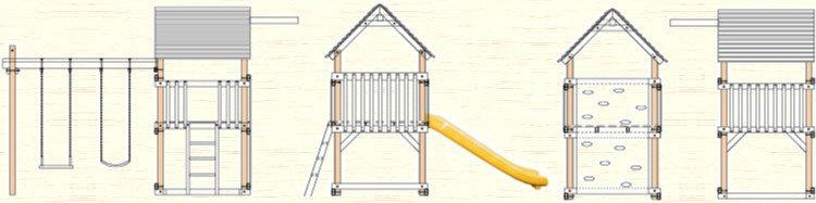 Free Swing Set Play Fort Plans