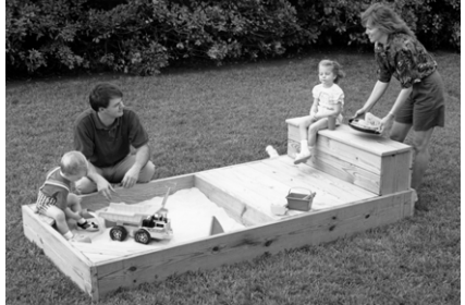 Free Sandbox Plans with Deck