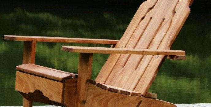Greene and Greene Style Adirondack Chair Plans – Free