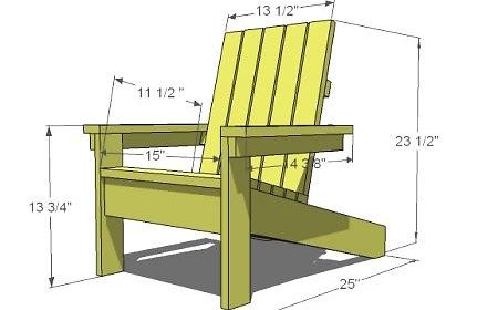 9 Steps and $20 – A Child's Adirondack Chair
