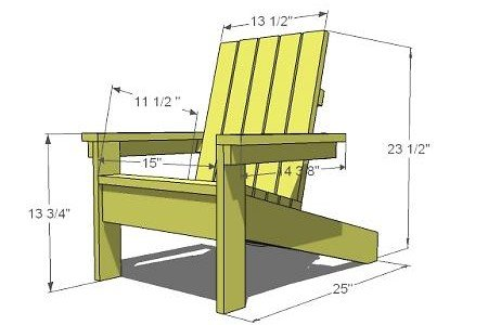 9 steps and 20 a child 39 s adirondack chair woodwork for Plan de chaise longue en bois