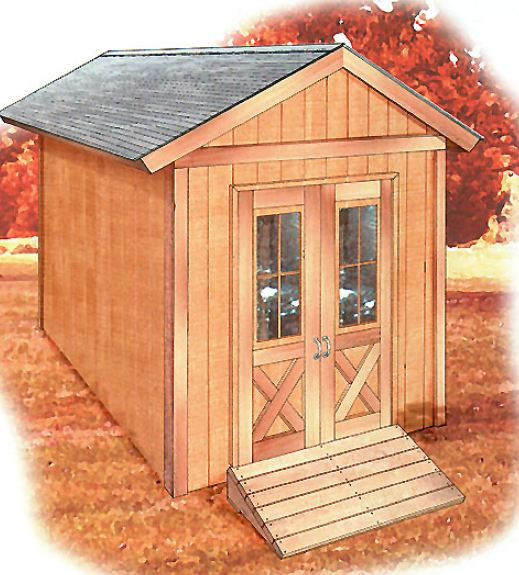 Free Shed Plans 12' x 8'