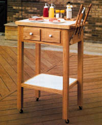 Free Outdoor Grill Cart Plan