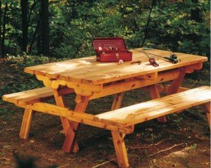 Convertible picnic table plans