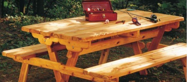 Picnic Table Plans – Convert to Benches
