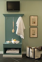 Free Dressing Bathroom Bench Plans