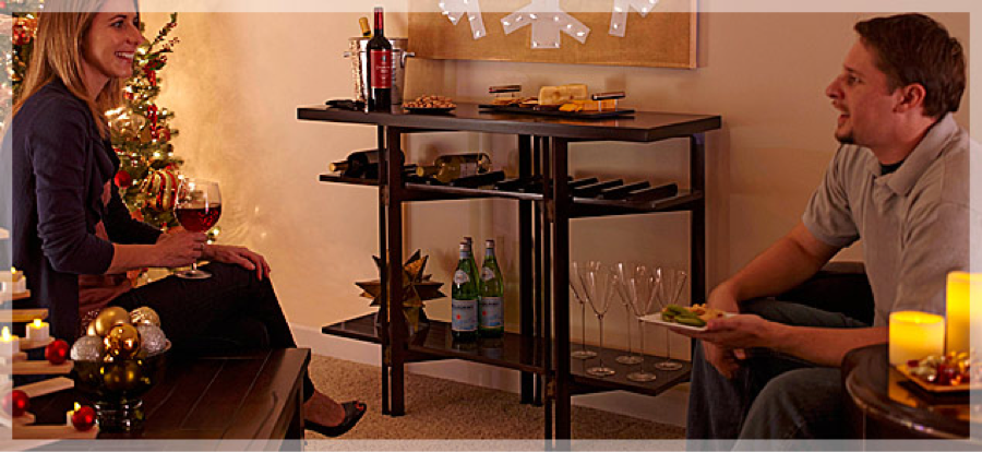 Free Folding Wine Counter Plans