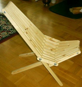 Kentucky Folding Stick Chair Plans