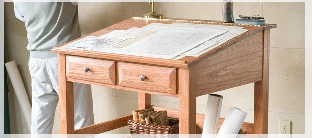 Free Standing Desk Plans