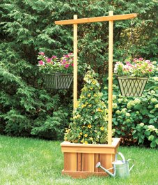 Free Dutch Arbor Planter Plans