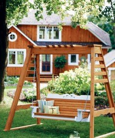 Free Porch Swing Plan