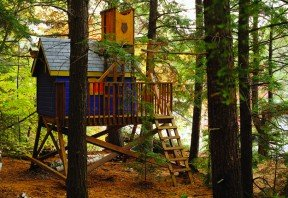 Free Tree House Plans