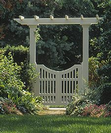 Free Arbor with Gate Plans