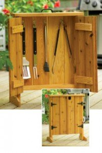 BBQ Tool Cabinet Plans