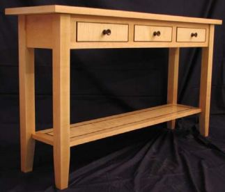 sofa table plans. Free Sofa Table Plans