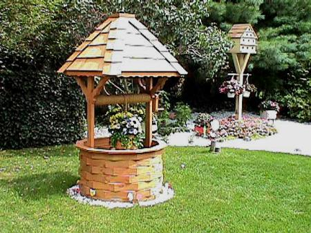 Free Wishing Well Plans Woodwork City Woodworking