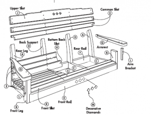 adirondack porch swing plans free
