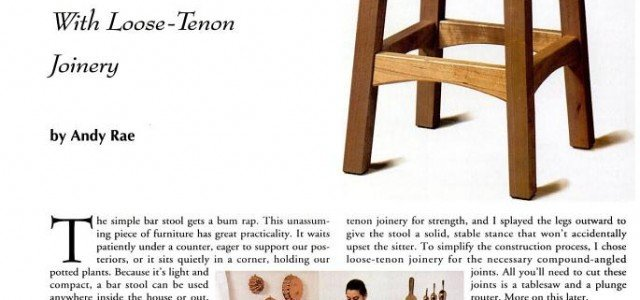 Free bar stool plans woodwork city woodworking