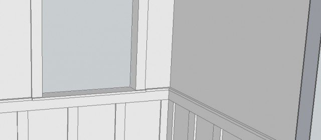 Free Frame and Panel Wainscoting Plans