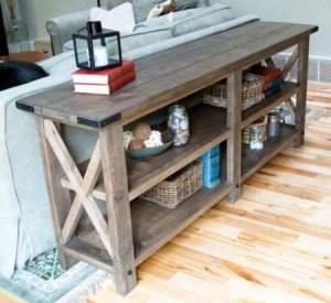 Free Console Table Plans