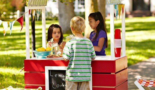 Free lemonade stand plans woodwork city free woodworking for Kids lemonade stand plans