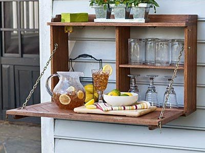 Flip Down Sideboard Plans – Plow and Hearth