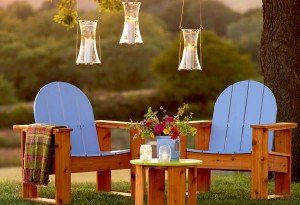 Adirondack inspired chair plans