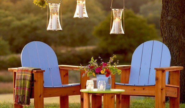 Free Plans for an Easy Adirondack Chair