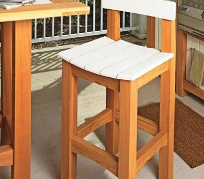 Free Cafe Table Stool Plans